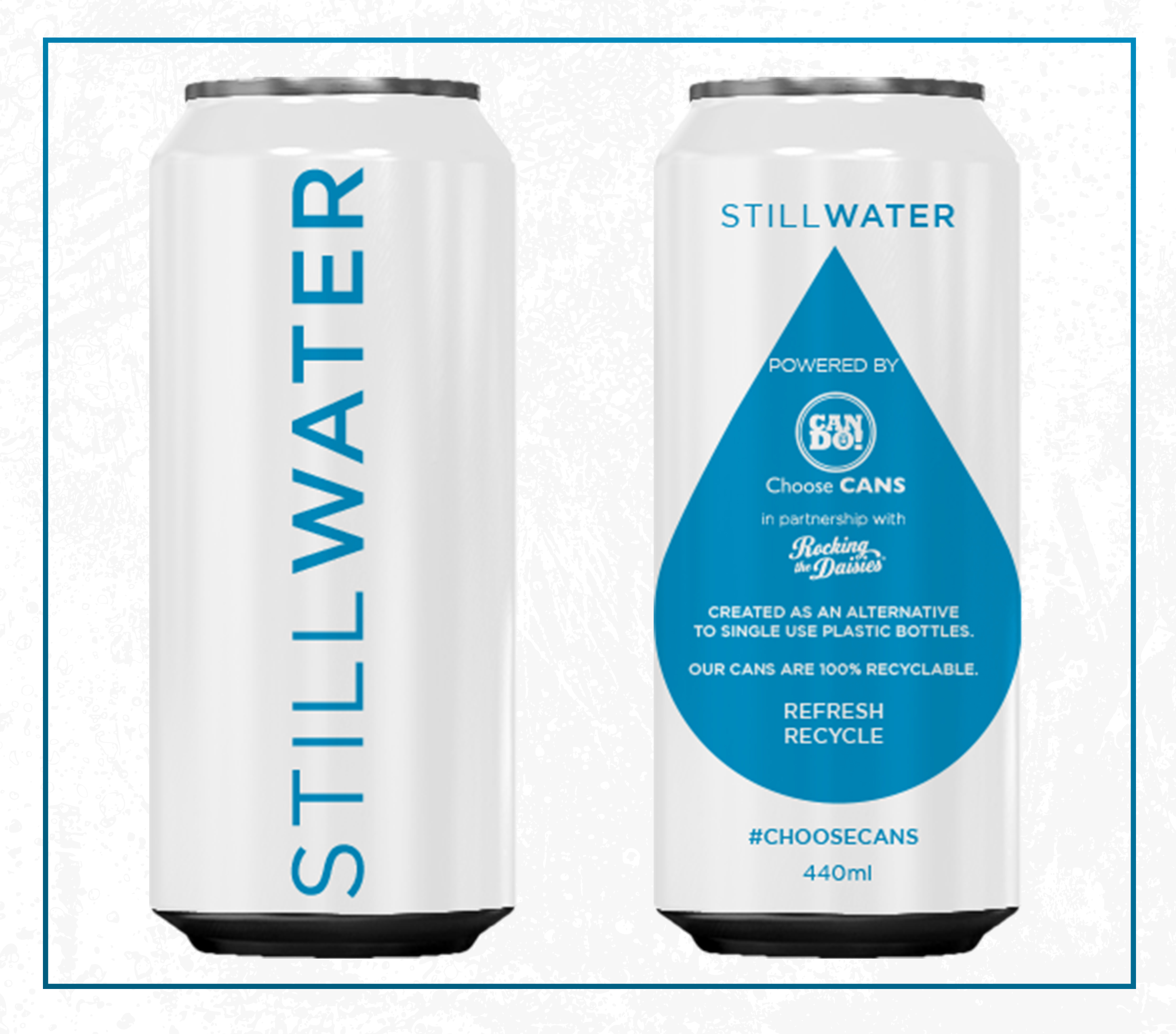 CANNED STILL WATER - PRESS PACK